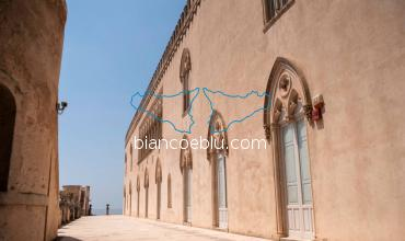in donnafugata castle the house of the mafia boss sinatra from the tv series montalbano
