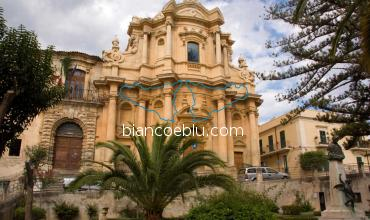 this baroque church in noto is an exaple of the rich baroque architecture in sicily