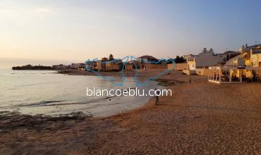 in punta secca montalbano house is facing the sea and the beach