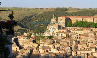 ragusa ibla offers amazing view of the town